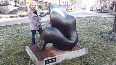 Weiler Skulptur von Maritta Winter wird bei der Biennale in Venedig gezeigt