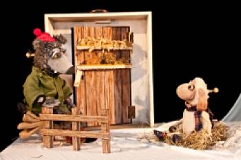 Figurentheater Allerhand, Christa Hoff: Ein Schaf fürs Leben